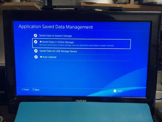 PS4 save data recovery