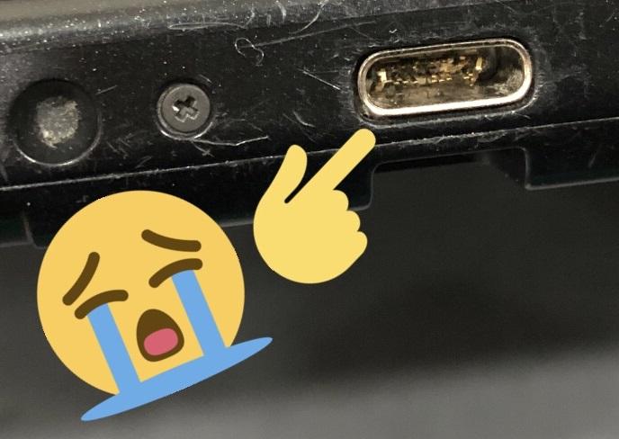 Nintendo Switch Damaged Port