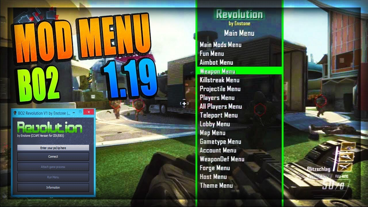 Call of duty mod menu
