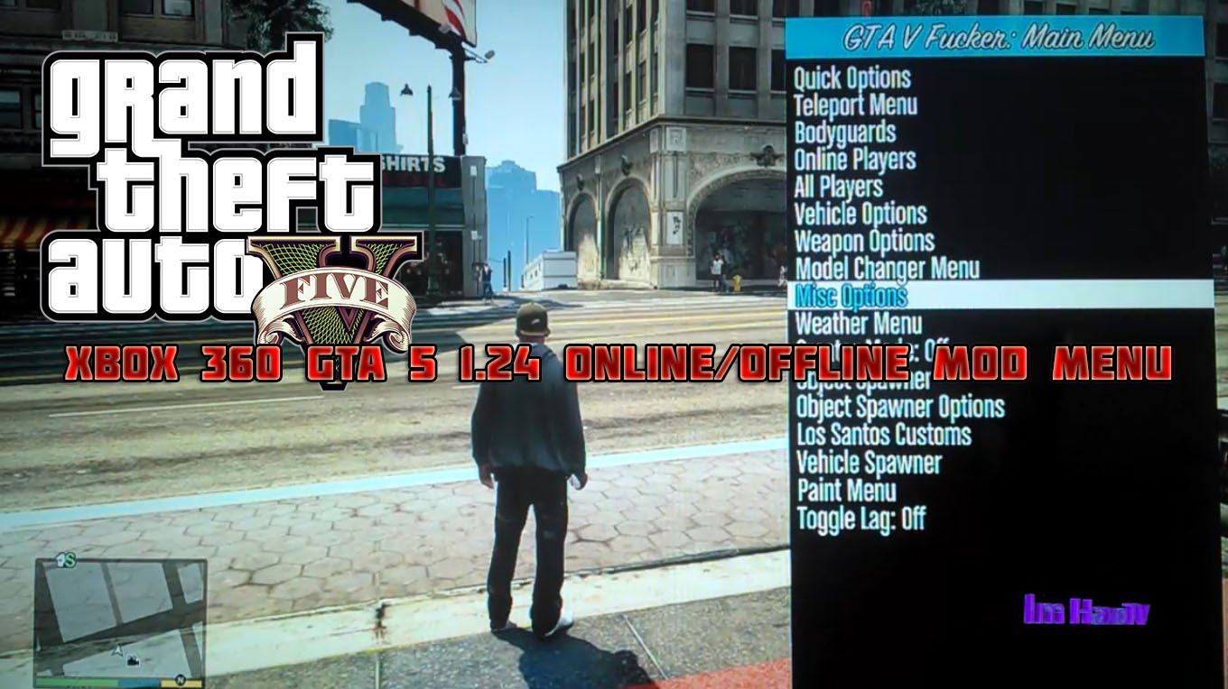 Gta 5 online | mod menu | give rp / lvl to other players | lexicon.