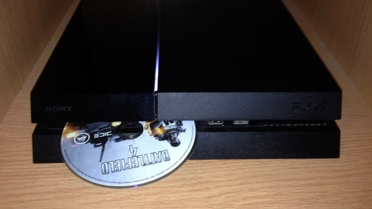 ps4 reload disks